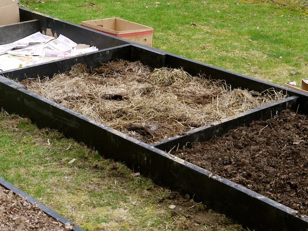 Lasagna Gardening is a great way to build soil!