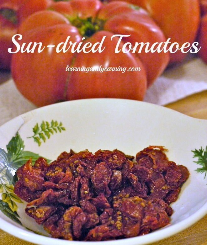Sundried tomatoes @learningandyearning