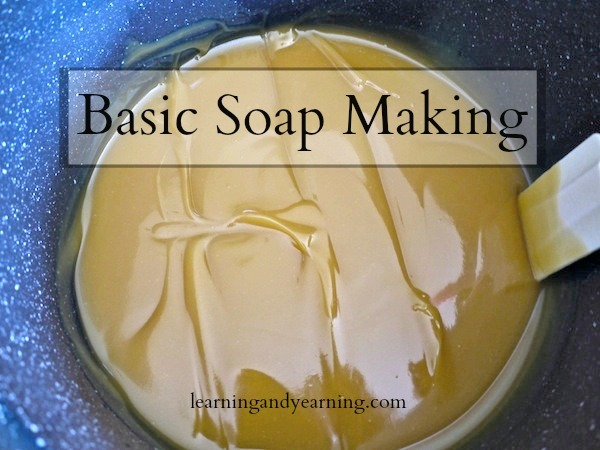 Basic Soap Making - Soap making requires care, but is a simple and straight-forward process. This post on basic soap making is a simple primer to get you started as you learn to make soap. #soap #soapmaking #howtomakesoap