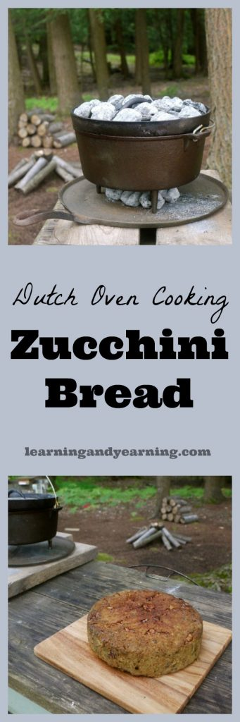 Using a Dutch oven to bake zucchini (or any other) bread is a great way to bake outdoors. The post will teach you how to achieve optimum temperatures!