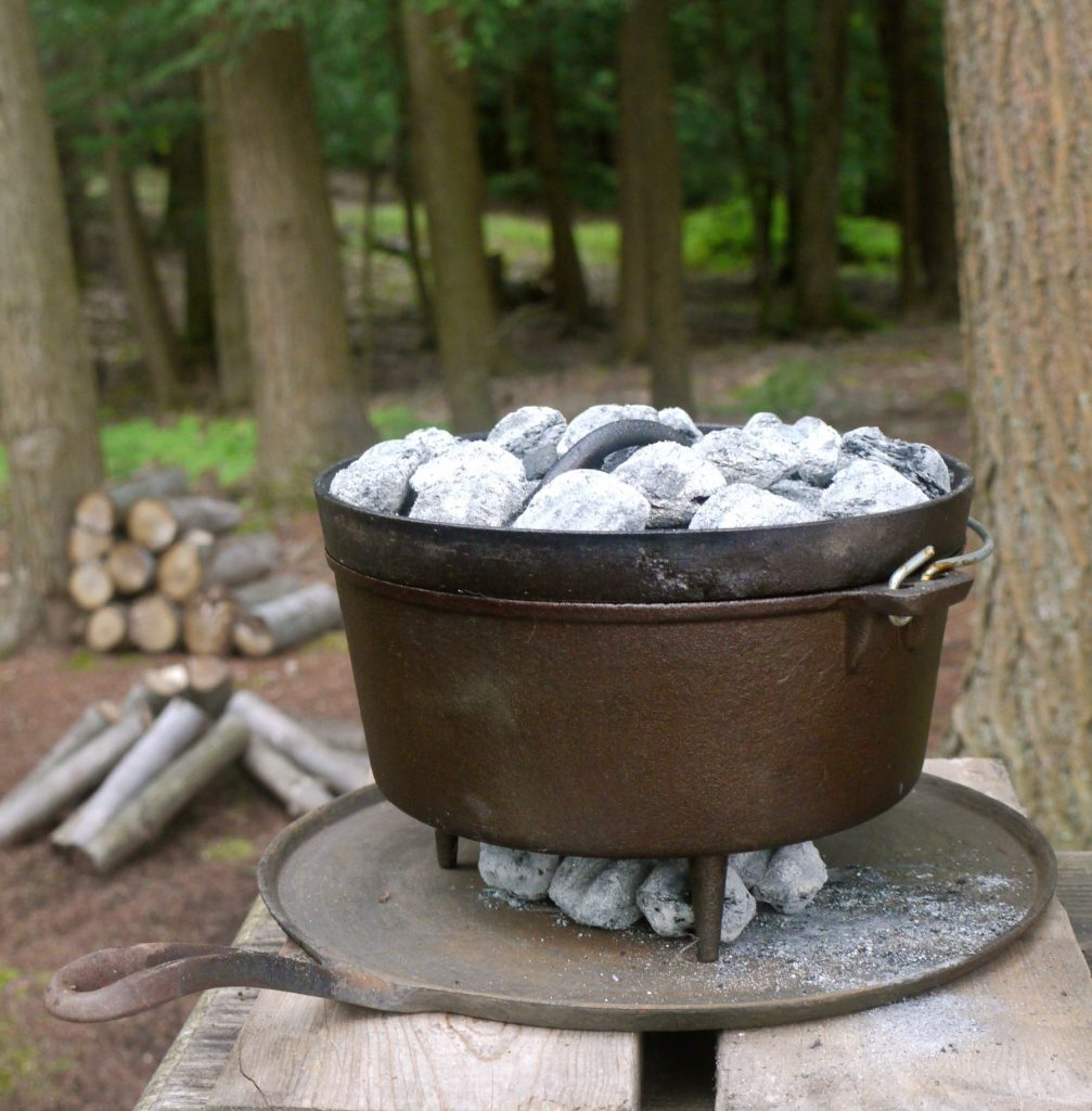 Top 25 Ideas About Cast Iron Camp Dutch Oven On Pinterest: Dutch Oven Cooking: Zucchini Bread