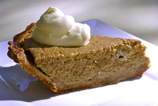 Winter squash pie might just be better than pumpkin pie!