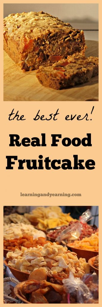 My mom always made the best fruitcake ever. No candied fruit and not too sweet. But the real secret to this real food, moist, fruitcake is whiskey, guys!