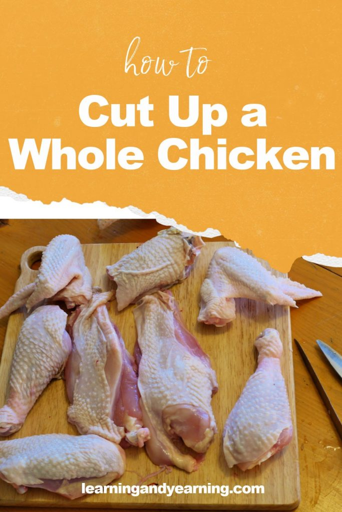 How to cut up a whole chicken!