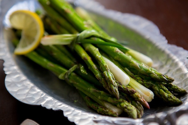 Roasted Asparagus @learningandyearning