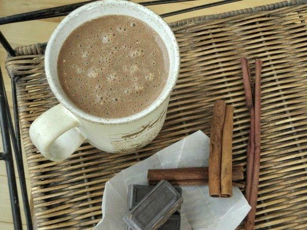homemade creamy mayan hot chocolate