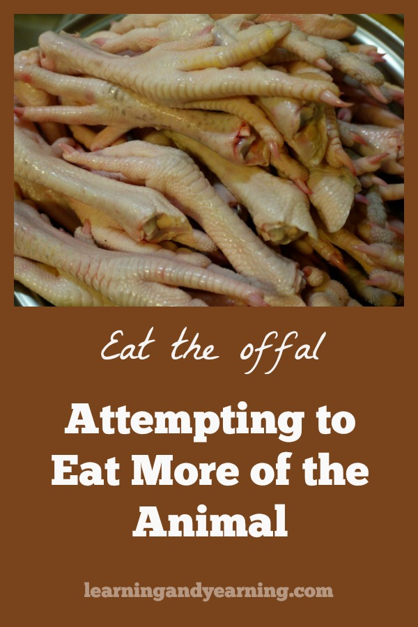 "As author Shannon Hayes reminds us, ""Sustainable livestock farming cannot happen without sustainable livestock consumption. We must make use of all the gifts an animal provides when we take its life."" #offal #realfood #homesteading"
