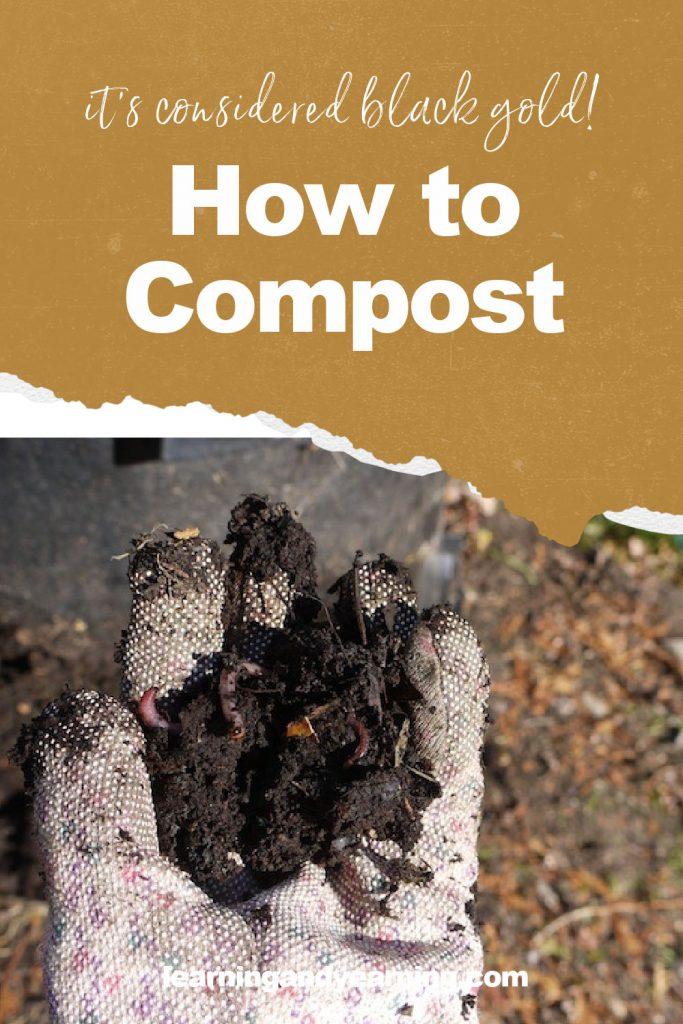 How to compost - it's a valuable soil amendment!