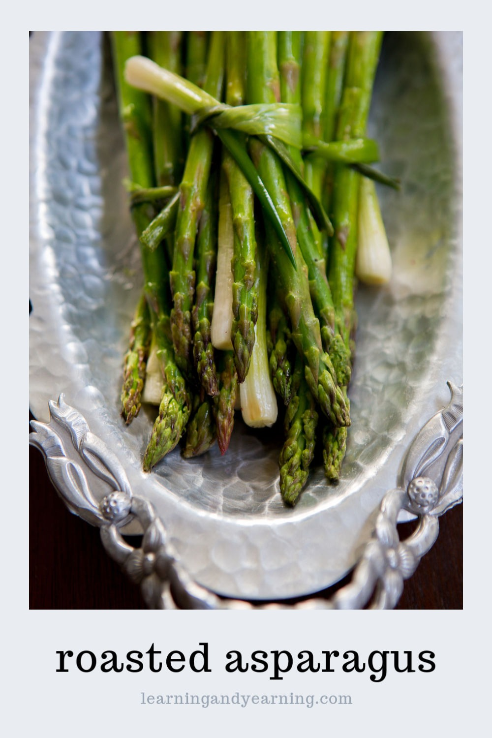 Roasted asparagus recipe.
