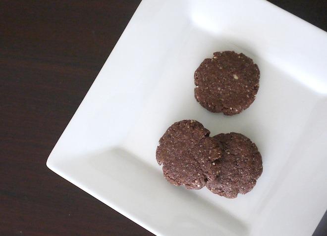 Grain-Free Chocolate Almond Cookies @learningandyearning