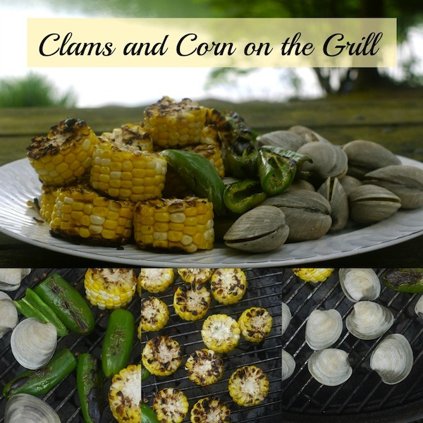 Clams and Corn on the Grill @learningandyearning