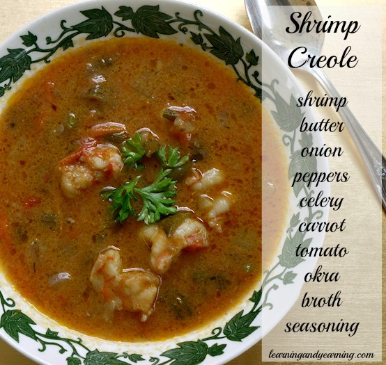 Great recipe for Shrimp Creole @learningandyearning.com