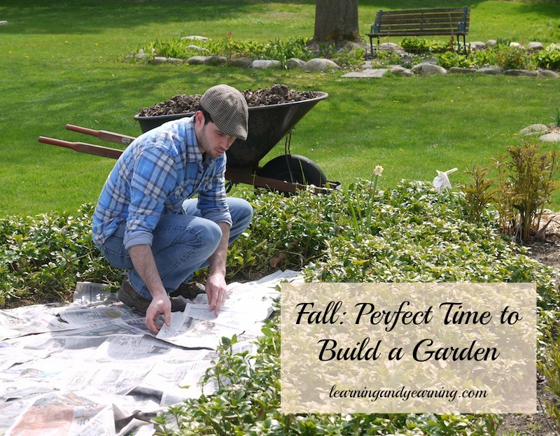 Fall is the perfect time to build a garden that builds soil