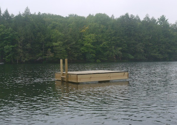 Our neighbor's new dock