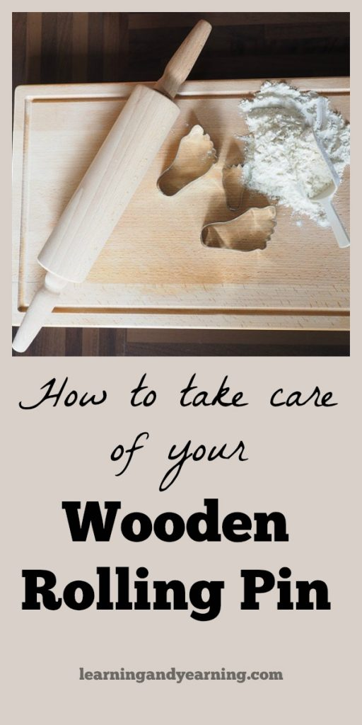 Taking care of a wooden rolling pin is easy. Learn how to clean and season a wooden rolling with an item you probably already have on hand.