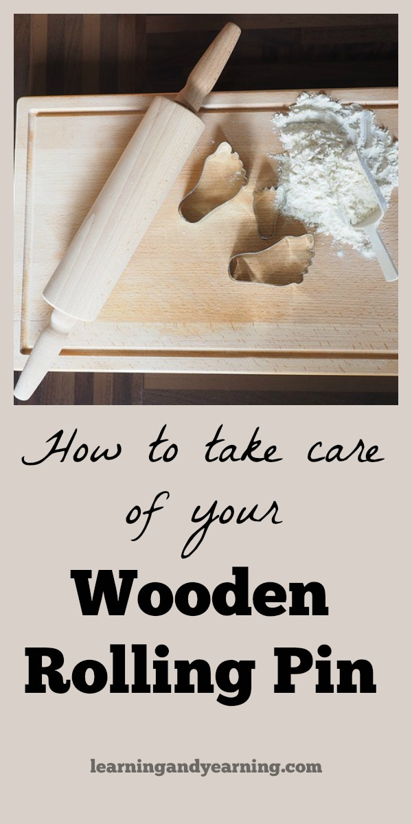 Taking Care Of Your Wooden Rolling Pin