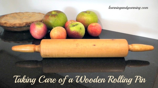 Learn how to take care of a wooden rolling pin @learningandyearning