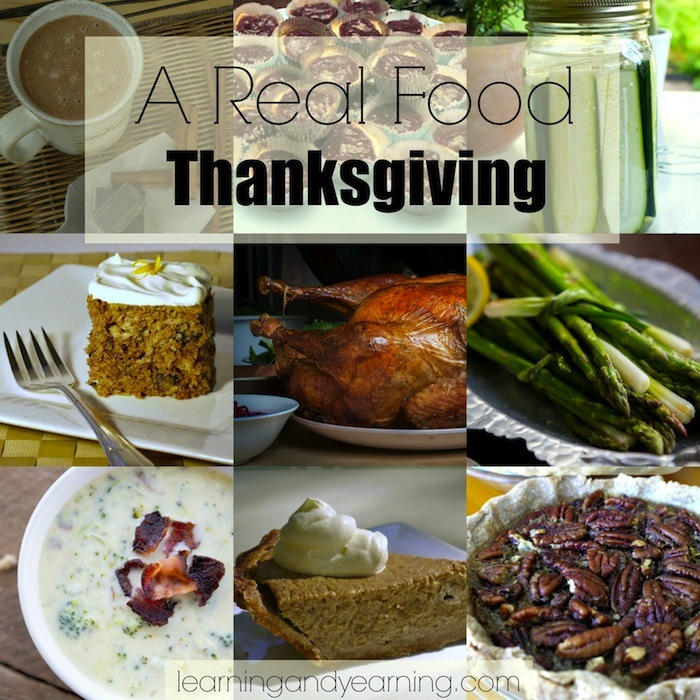 Great recipes for a real food Thanksgiving!!!
