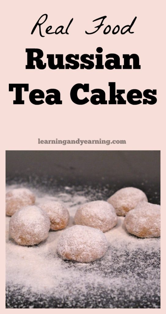 Made with REAL, nutrient-dense ingredients, these Russian Tea Cakes are crispy, buttery, and oh, so scrumptious. Make them today! #cookies #russianteacakes #christmas