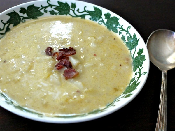 Cabbage potato soup is extra nourishing when made with bone broth.