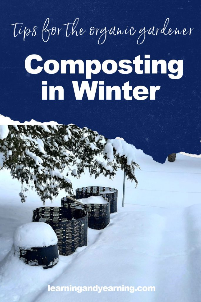 Tips for composting in winter!
