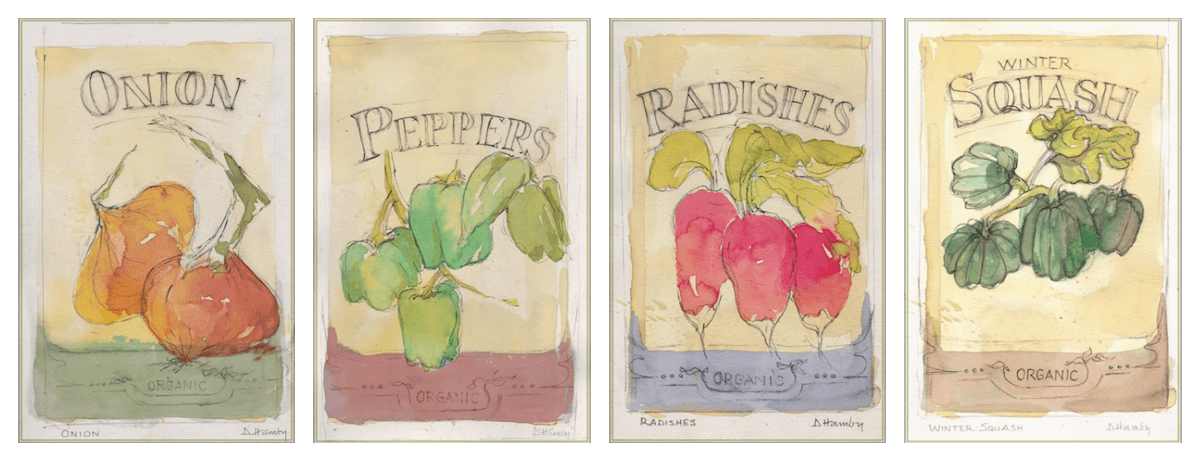 The Art Of Gardening: Building Your Soil E Book Is Beautifully Illustrated  By Artist Deb Hamby