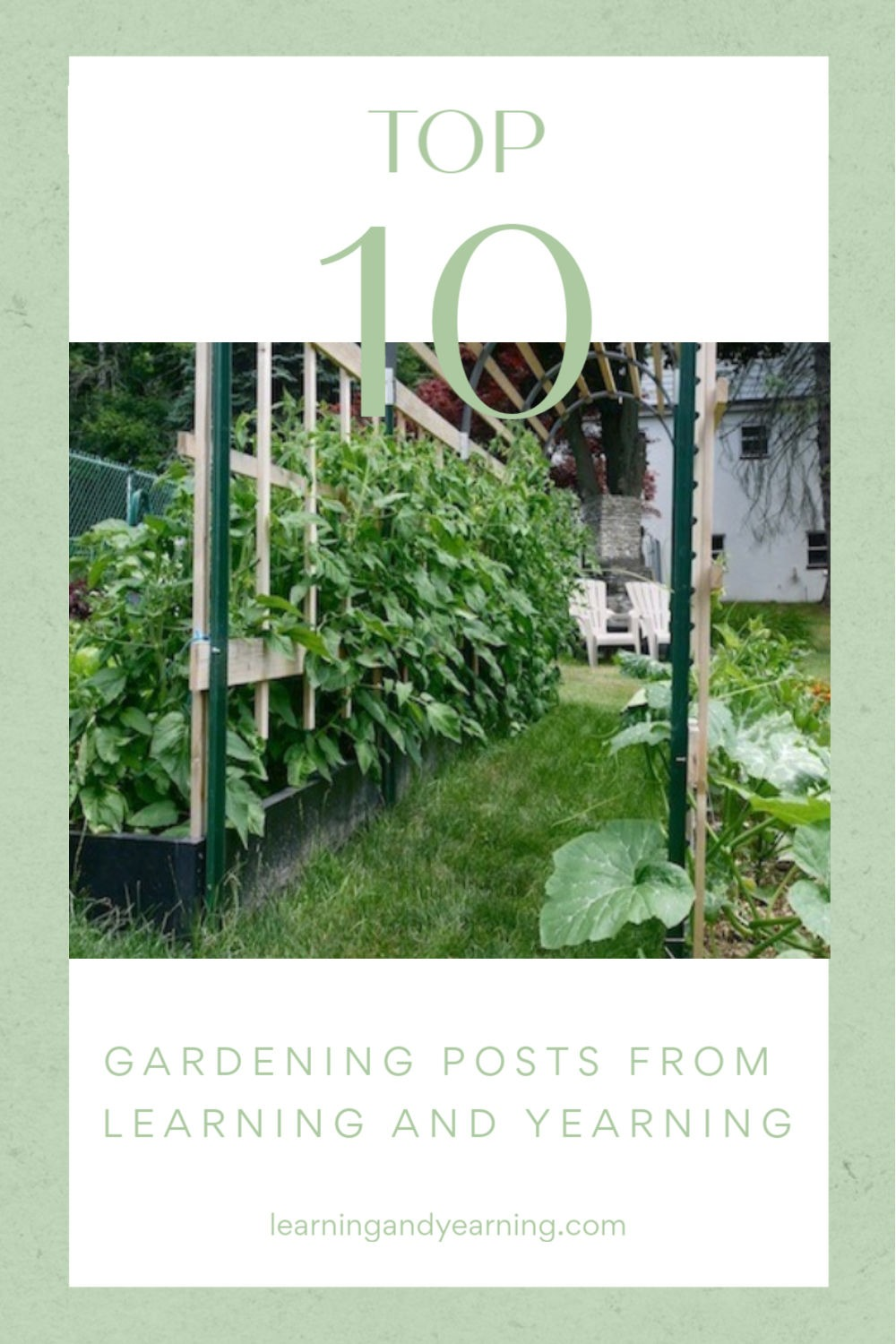 Top ten gardening posts.