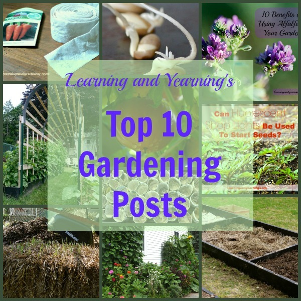 Learning and Yearning's Top 10 Gardening Posts |