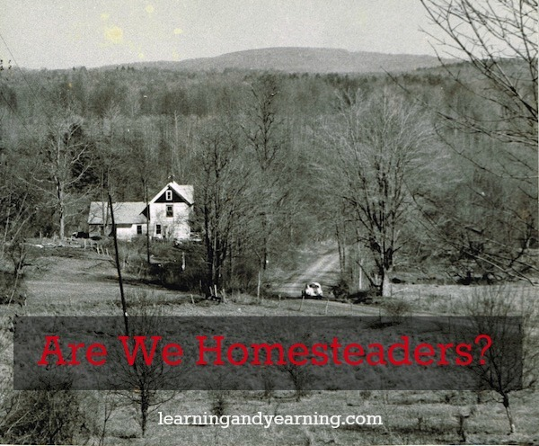 Does homesteading depend on where you live? Or is it doing what you can where you are?