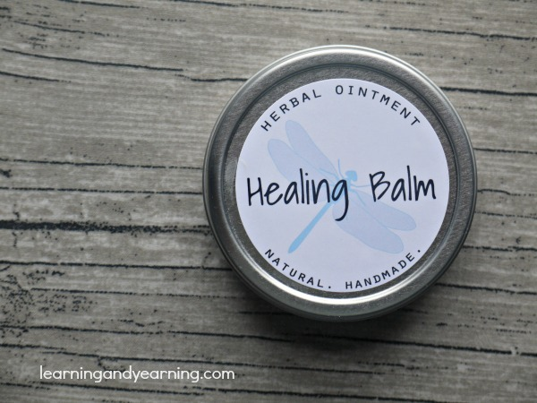 Make Your Own Herbal Healing Balm