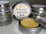 Lotion Bars are a great way to keep your skin soft, and they travel well without any mess. Get the recipe and free printable labels!