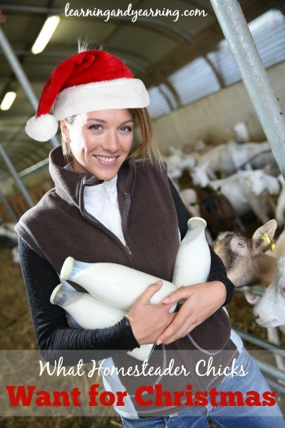 What Homesteader Chicks Want for Christmas!