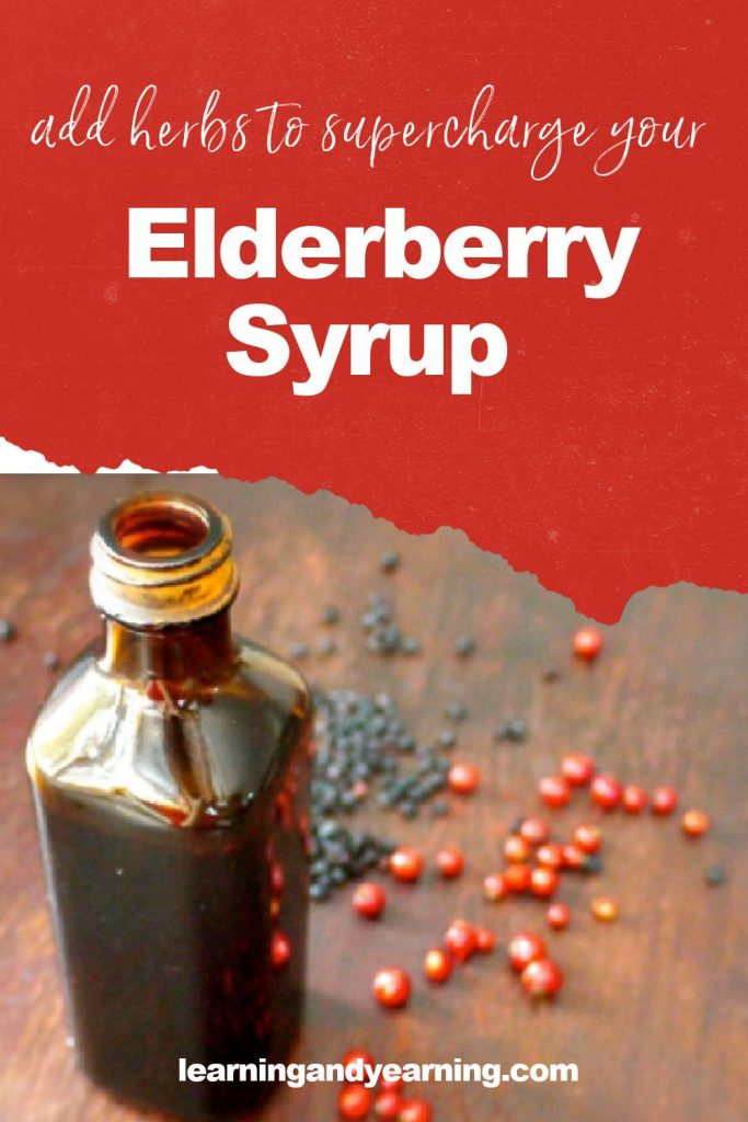 Supercharge your homemade elderberry syrup!