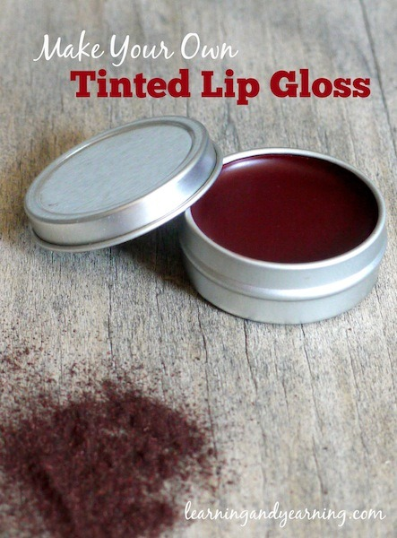 All natural alkanet root will impart a lovely ruby glow to your homemade tinted lip gloss. The recipe is simple!