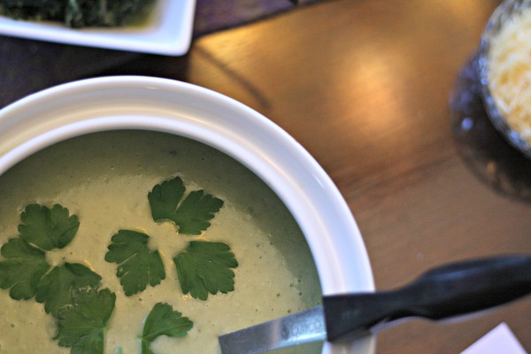 Ramp Soup - What I mean when I say I forage is that I wildcraft foods worthy of a feast. A foraged feast!