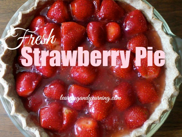 Looking for a great way to enjoy those strawberries you've just picked? You'll love fresh strawberry pie!