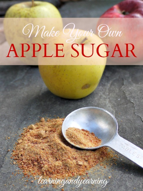 Make Your Own Apple Sugar |