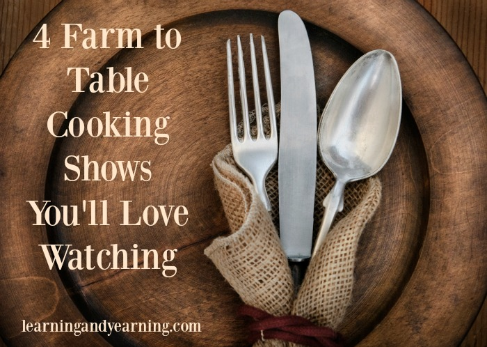 Winter evenings are perfect for watching farm-to-table cooking shows. You'll be inspired and maybe a new dish will end up on your table one of these nights.