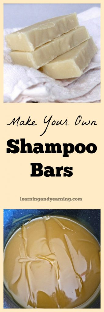 If you can make homemade soap, then you can make shampoo bars. They are rich and creamy, smell wonderful, and best of all, they are good for your hair!