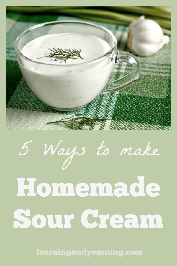 Good quality sour cream contains probiotic cultures; you can make your own sour cream so you can control the quality and save money.