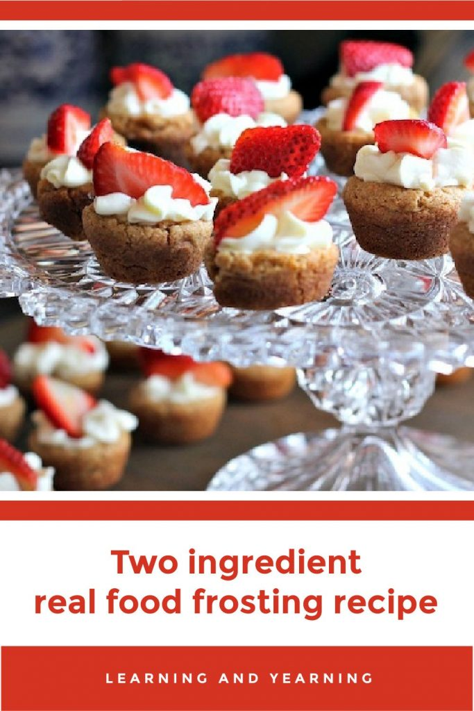 Two ingredient real food frosting!