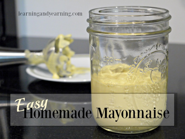I'm so glad I've found a way to make an easy, homemade mayonnaise that's super delicious, and full of quality nutrient-dense ingredients.