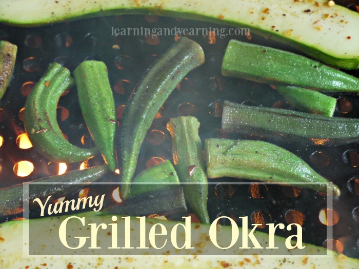 Looking for a delicious and easy way to prepare okra? Grilled okra is perfect. And grilling keeps the okra from getting slimy.