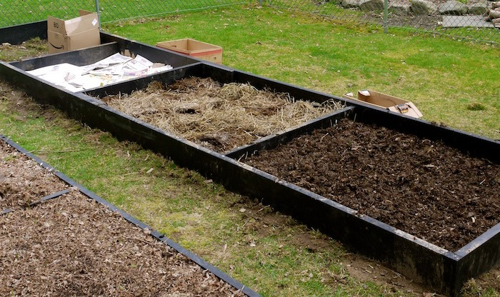 lasagna garden layers