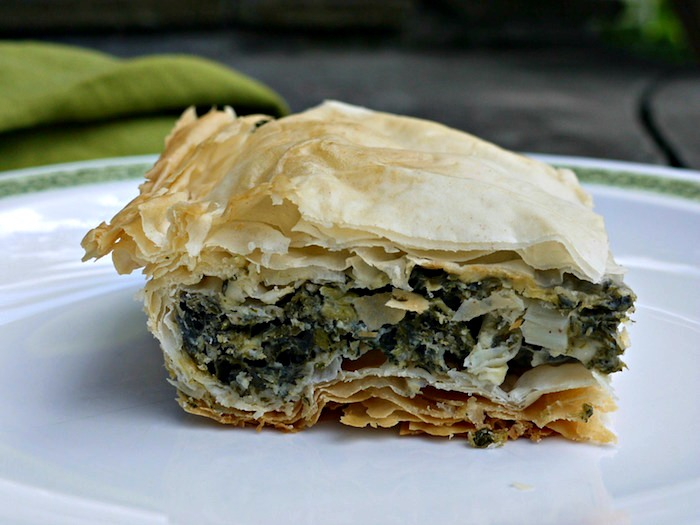 Spanakopita is a delicious Greek pastry traditionally made with spinach, but is just as delicious, and more nutritious, when made with stinging nettle.