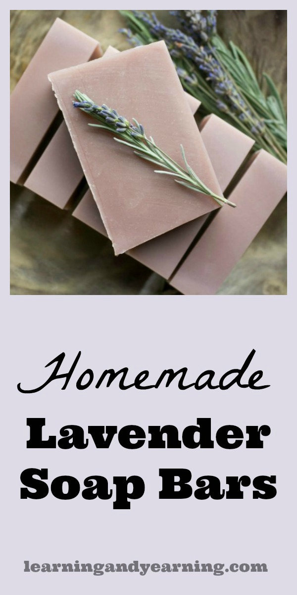 If you're looking for an amazing soap that will relax you after a stressful day, homemade lavender soap bars are for you. So perfect for gift giving, too!
