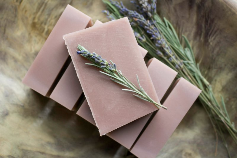 How to make lavender soap bars