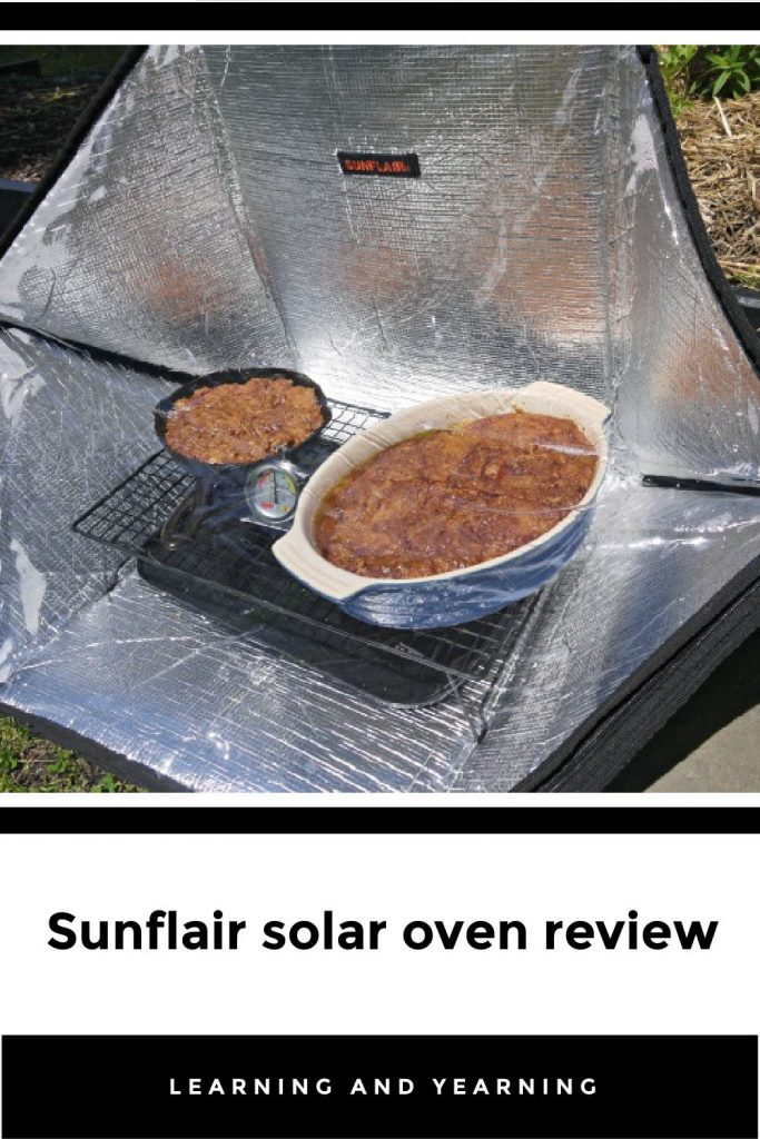 Sunflair solar oven review!