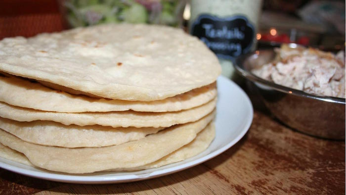 sourdough tortillas