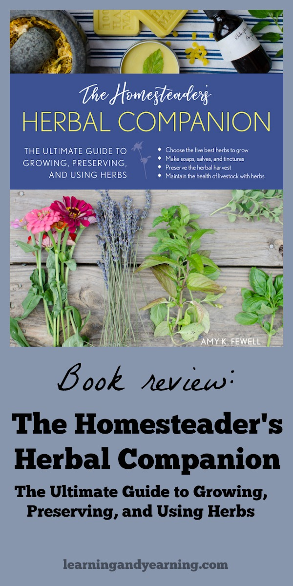The Homesteader's Herbal Companion book